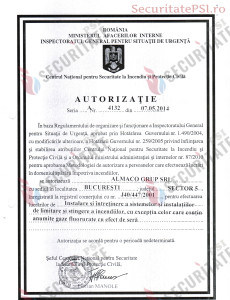 Autorizatie PSI